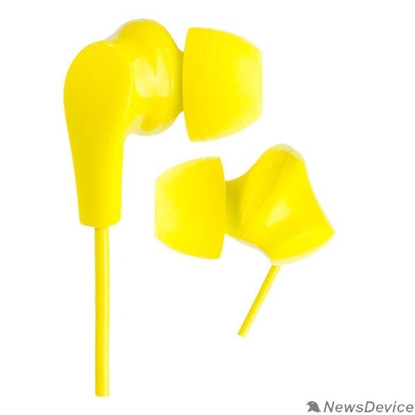 Наушники Perfeo наушники внутриканальные NOVA желтые