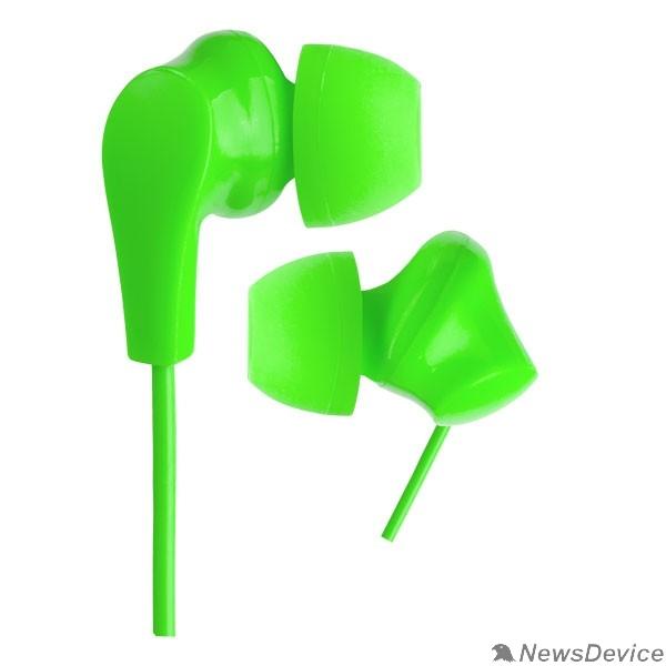 Наушники Perfeo наушники внутриканальные NOVA зеленые