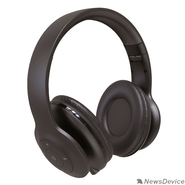 Наушники Perfeo наушники полноразмерные беспроводные с микрофоном SOLE чёрные PF_A4906