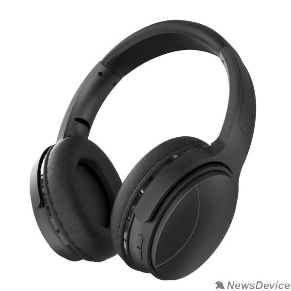 Наушники Perfeo наушники полноразмерные беспроводные с микрофоном, MP3 плеером ,FM, AUX ELLIPSE чёрные PF_A4907
