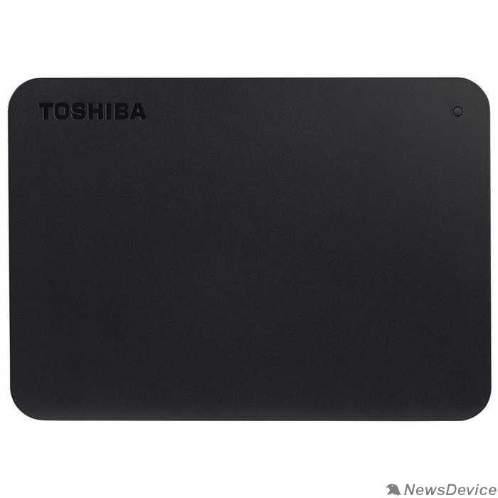 """носитель информации Toshiba USB 3.0 4Tb HDTB440EK3CA Canvio Basics 2.5"""" черный"""