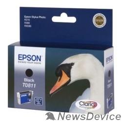 Расходные материалы EPSON C13T11114A10/C13T08114A Epson картридж для St.Ph. R270/R390/RX590 (черный) 480 стр. (cons ink)