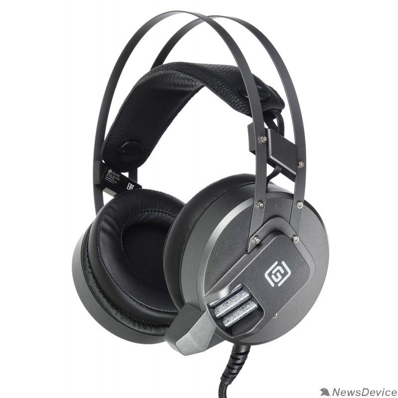 Наушники и микрофоны Oklick HS-L550G THUNDER черный 2.2м мониторы оголовье (HS-L550G)