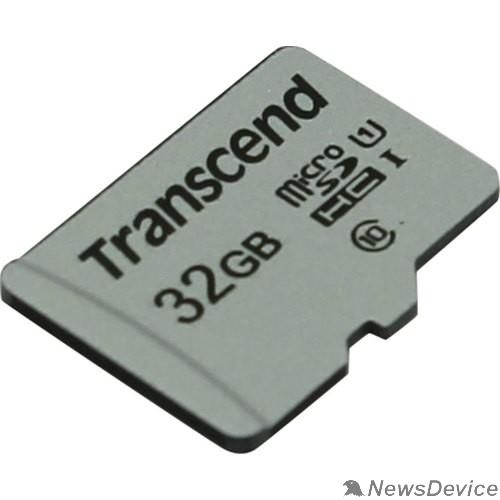 Карта памяти  Micro SecureDigital 32Gb Transcend TS32GUSD300S MicroSDHC Class 10 UHS-I
