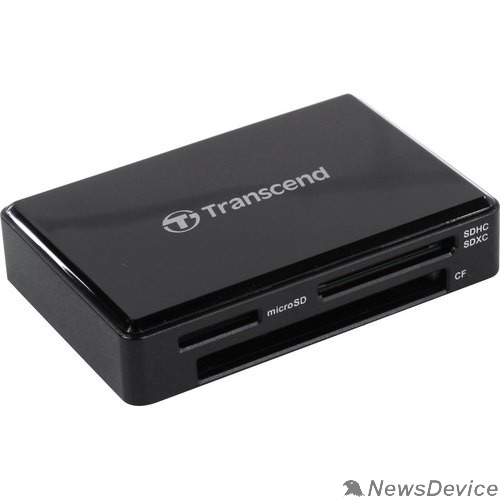 Устройство считывания Считыватель карты памяти Transcend USB3.1 Gen1 All-in-1 Multi Card Reader,Type C TS-RDC8K2