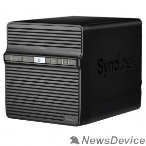 Дисковый массив Synology DS420J Сетевое хранилище QC1,4GhzCPU/1GB/RAID0,1,5,6,10/up to 4HDDs SATA(3,5' ')/2xUSB3.0/1GigEth/iSCSI/2xIPcam(upto 16)/1xPS/2YW