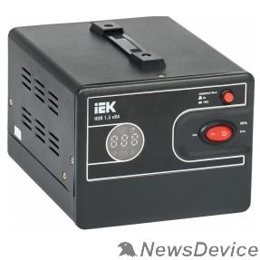 Стабилизаторы напряжения Iek IVS21-1-D15-13 Стабилизатор напряжения переносной HUB 1,5кВА