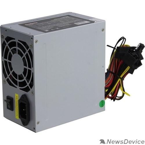 Блок питания Exegate EX282067RUS Блок питания 550W ExeGate CP550, ATX, 8cm fan, 24p+4p, 3*SATA, 2*IDE, FDD