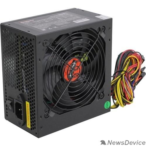 Блок питания Exegate EX282071RUS Блок питания 550W ExeGate 550NPX, ATX, black,12cm fan, 24p+4p, 6/8p PCI-E, 3*SATA, 2*IDE, FDD