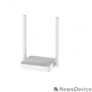 Сетевое оборудование Keenetic 4G (KN-1211) Маршрутизатор беспроводной Wi-Fi N300 для подключения к сетям 3G/4G/LTE через USB-модем