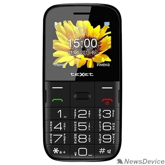 Мобильный телефон TEXET TM-B227 Мобильный телефон цвет черный