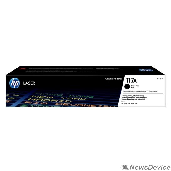 Расходные материалы HP W2070A Картридж 117A лазерный, черный  (1000стр.)