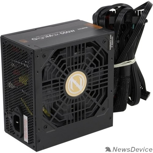 Блок питания Zalman <GVII> ZM550-GVII, 550W, ATX12V v2.31, EPS, APFC, 12cm Fan, 80+ Bronze, Retail