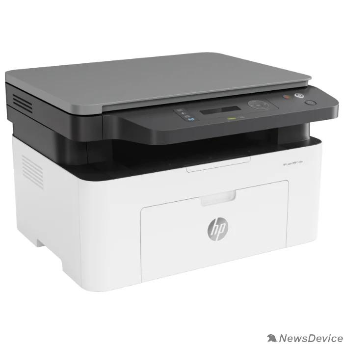 Принтер HP Laser 135w (МФУ, A4,1200dpi, 20ppm, 128Mb, Duplex, USB2.0/Wi-Fi,AirPrint) (4ZB83A)
