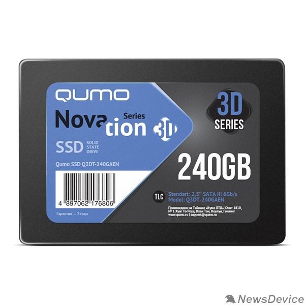 накопитель QUMO SSD 240GB QM Novation Q3DT-240GAEN SATA3.0