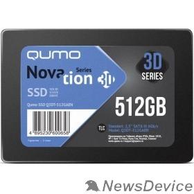 накопитель QUMO SSD 512GB QM Novation Q3DT-512GAEN SATA3.0
