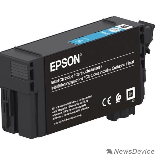 Расходные материалы Epson C13T40D240 картридж для Epson для SC-T3100/5100, 50 мл, голубой (LFP)