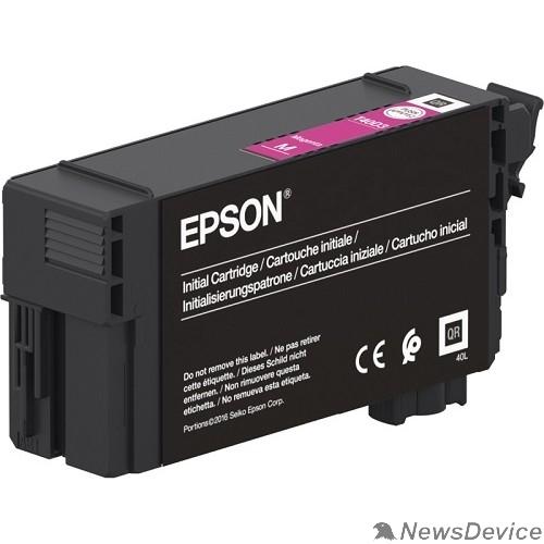 Расходные материалы Epson C13T40D340 картридж для Epson для SC-T3100/5100, 50 мл, пурпурный (LFP)
