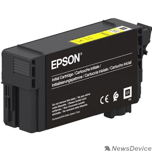 Расходные материалы Epson C13T40D440 картридж для Epson для SC-T3100/5100, 50 мл, желтый (LFP)
