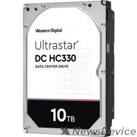"Жесткий диск 10Tb WD Ultrastar DC HC330 SATA-III 12Gb/s, 7200 rpm, 256mb buffer, 3.5""  0B42266"