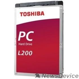 """Жесткий диск 1TB Toshiba L200 Slim (HDWL110UZSVA/HDKCB88ZKA01T) SATA-III, 5400RPM, 128MB, 2.5"""", 7mm"""