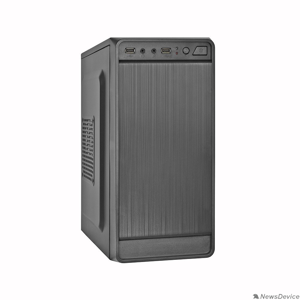 Корпуса Exegate EX283125RUS Корпус Minitower ExeGate BAA-108 Black, mATX, <AAA400, 80mm>, 2*USB, Audio