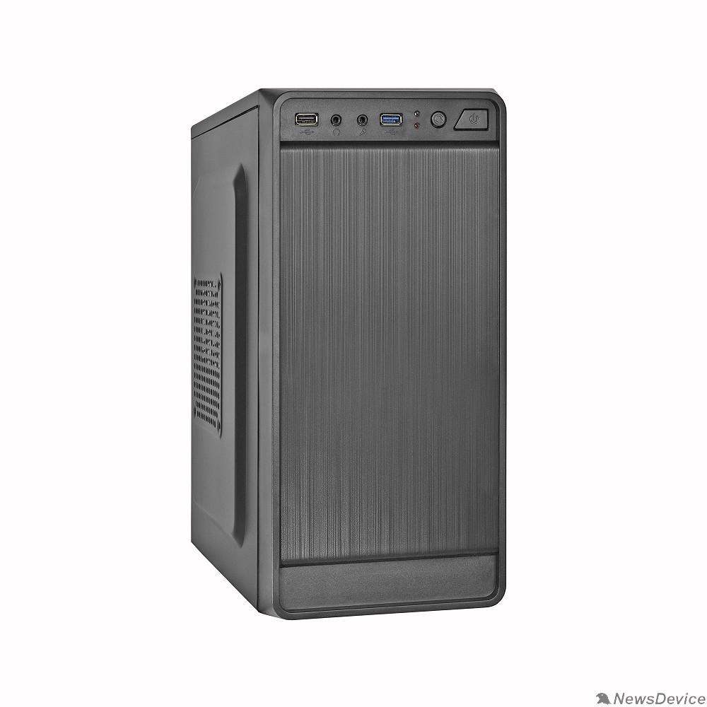 Корпуса Exegate EX283130RUS Корпус Minitower ExeGate BAA-108U Black, mATX, <AAA400, 80mm>, 1*USB+1*USB3.0, Audio