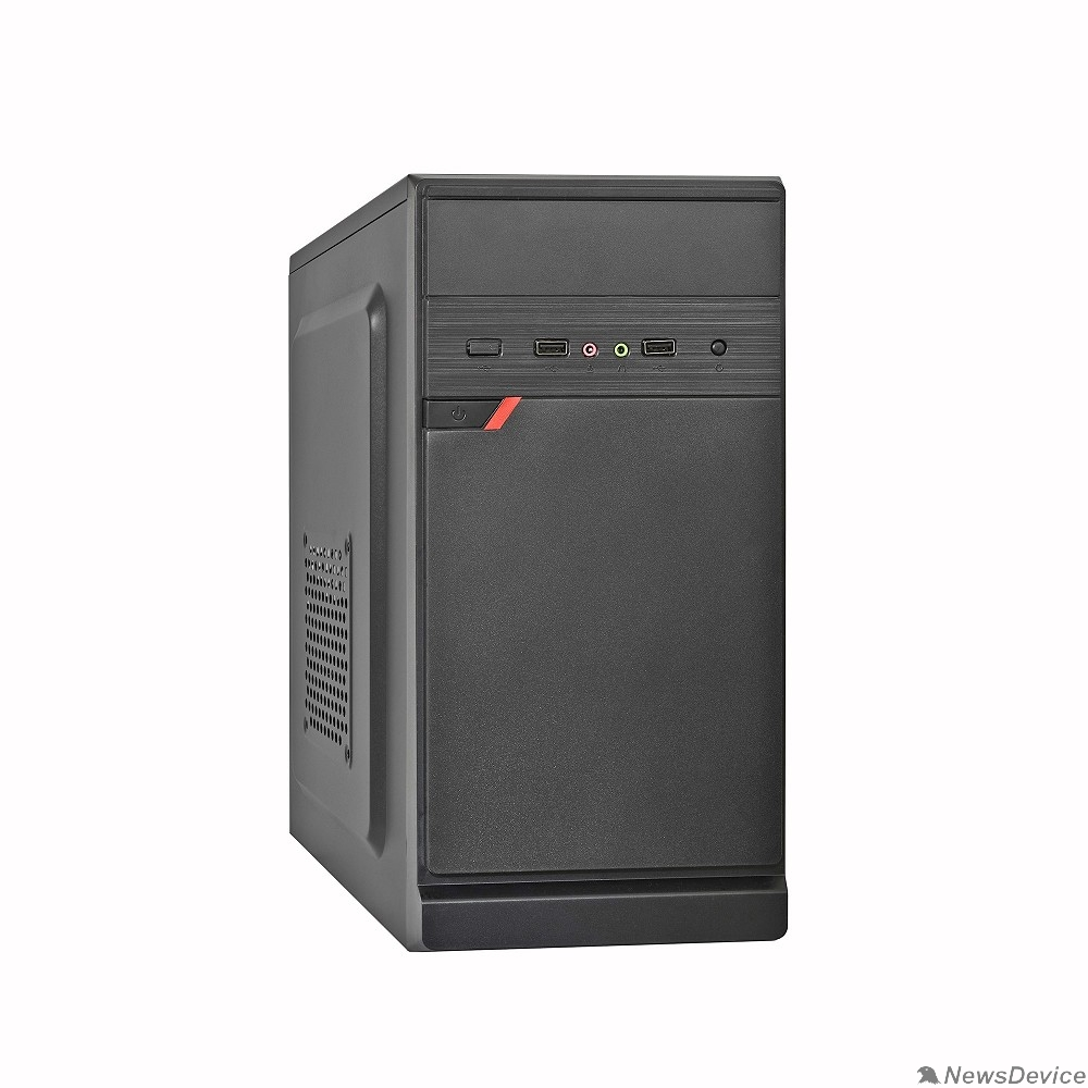 Корпуса Exegate EX283057RUS Корпус Minitower ExeGate BAA-106 Black, mATX, <AAA350, 80mm>, 2*USB, Audio