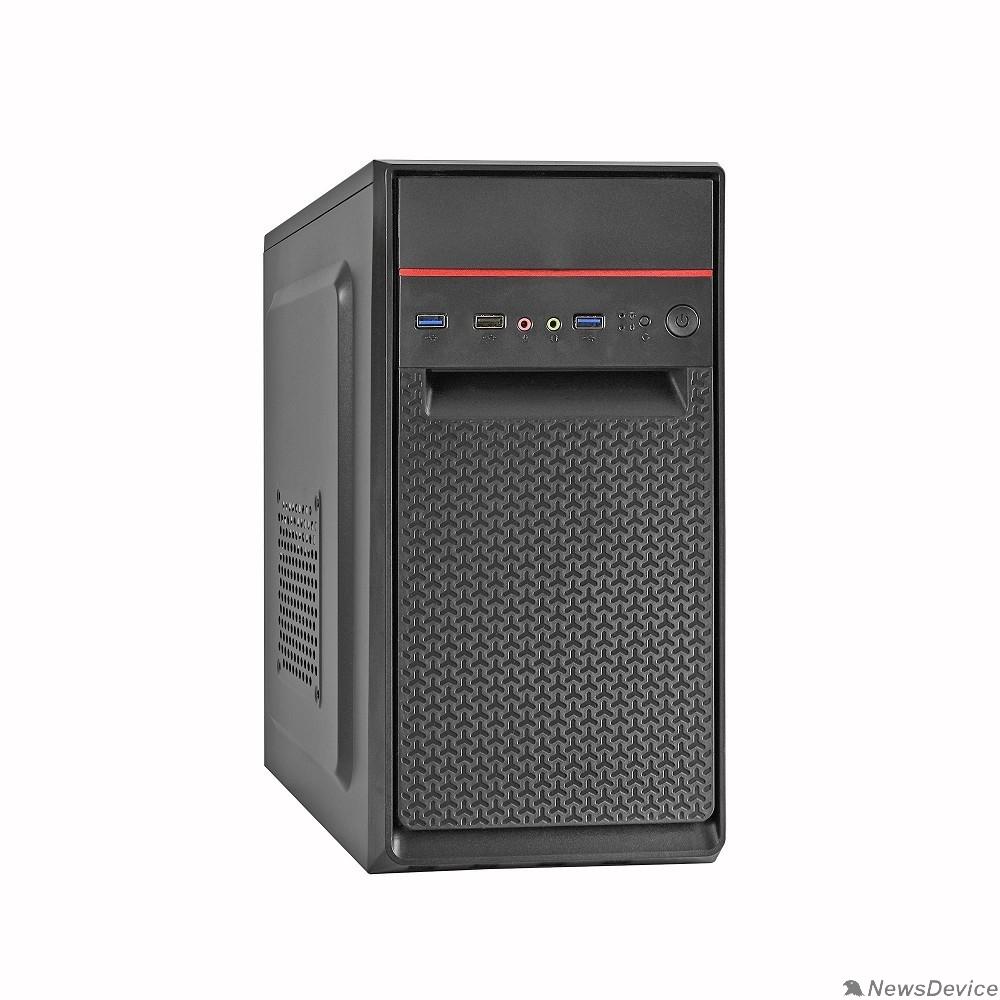 Корпуса Exegate EX283060RUS Корпус Minitower ExeGate BAA-107U Black, mATX, <без БП>, 1*USB+2*USB3.0, Audio