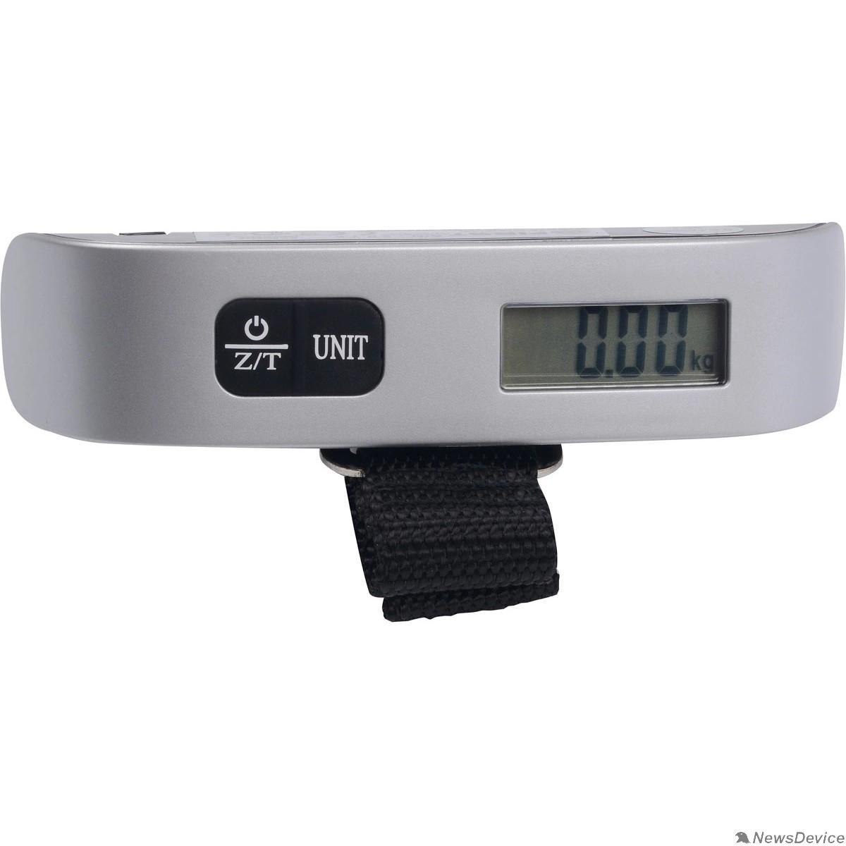 Весы FIRST FA-6409 Black Весы багажные, электронные, 50 кг, 50 гр, тарокомпенсация, термометр.Black