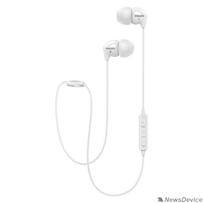 Наушники Philips SHB3595WT/10 Bluetooth белый