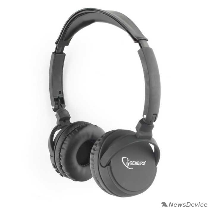 Наушники Gembird BHS-100, складная, Bluetooth v.5.0