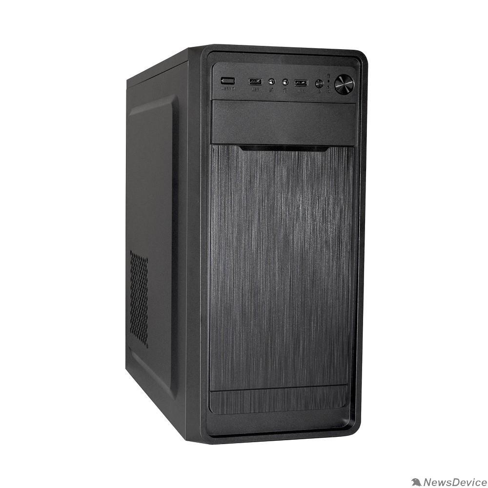 Корпуса Exegate EX283070RUS Корпус Miditower ExeGate XP-332 Black, ATX, <без БП>, 2*USB, Audio