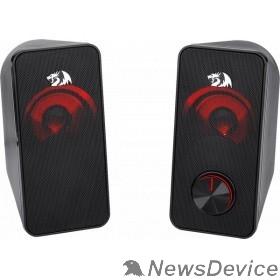 Колонки Defender Stentor черный, 6 Вт, питание от USB Redragon 77600