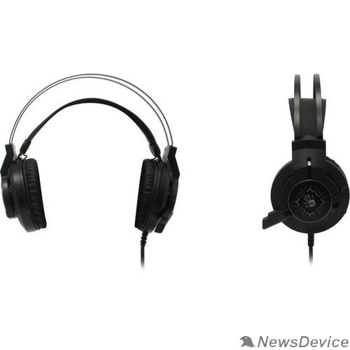 Наушники A4 Bloody J437 черный 2.2м мониторы USB оголовье