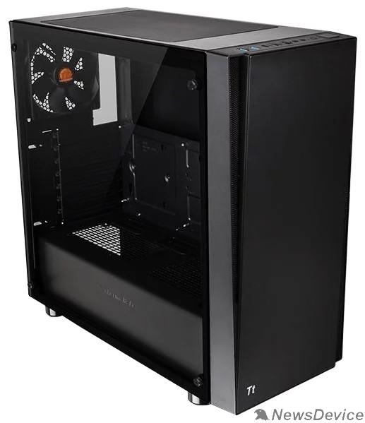 Корпус Case Tt Versa J21 TG черный без БП ATX 2x120mm 2xUSB2.0 2xUSB3.0 audio bott PSU CA-1K1-00M1WN-00