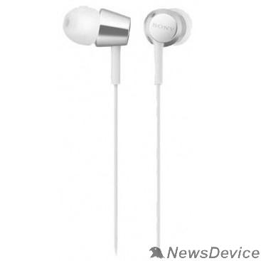 наушники Sony MDR-EX155AP 1.2м белый проводные в ушной раковине (MDREX155APW.E)