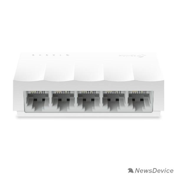 Сетевое оборудование TP-Link LS1005 5-портовый 10/100 Мбит/с неуправляемый коммутатор, 5 портов RJ45 10/100 Мбит/с