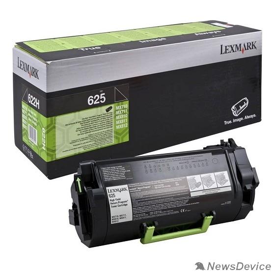 Расходные материалы Картридж Lexmark 62D5H0E с тонером сверхвысокой ёмкости для MX710/711/810/811/812, Corporate (25K)