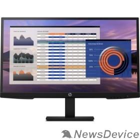 "Монитор LCD HP 27"" P27h G4 IPS 1920x1080 250cd 1000:1 5ms D-Sub HDMI DisplayPort Black 7VH95AA"