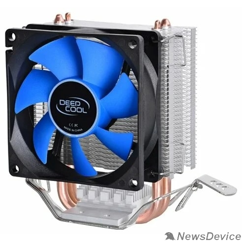 Вентилятор Устройство охлаждения(кулер) Deepcool ICE EDGE MINI FS V2.0 Soc-FM2+/AM2+/AM3+/AM4/1150/1151/1155/ 3-pin 25dB Al+Cu 100W 276gr Ret
