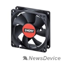 Вентиляторы Exegate EX283373RUS Вентилятор ExeGate ExtraSilent ES08015S3P, 80x80x15 мм, подшипник скольжения, 3pin, 1600RPM, 23dBA