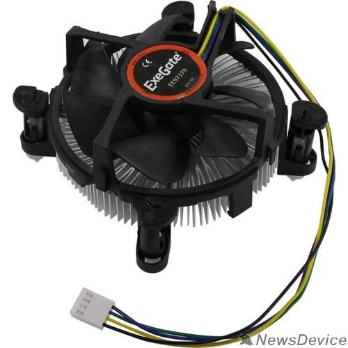 Вентиляторы Exegate EX283280RUS Кулер ExeGate EE97379, Al, S1150/1151/1155/1156, TDP 65W, Hydro bearing, 4pin, 23.5db, BOX