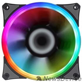 Вентиляторы GameMAX, GMX-12rainbow-S Вентилятор для компьютера 120х120х25, 12В,(гидродинамический подшипник)