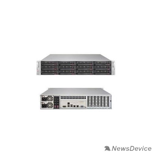 Сервер Серверная платформа 2U BLACK SSG-6029P-E1CR12L SUPERMICRO