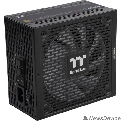 Блок питания Thermaltake ATX 650W Toughpower GF1 ARGB 80+ gold (24+4+4pin) APFC 140mm fan color LED 9xSATA Cab Manag RTL
