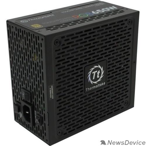 Блок питания Блок питания Thermaltake ATX 650W Toughpower Grand RGB Sync 80+ gold (24+4+4pin) APFC 140mm fan color LED 9xSATA Cab Manag RTL PS-TPG-0650FPCGEU-S