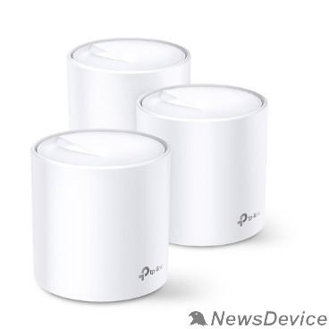 Сетевое оборудование TP-Link DECO X60(3-pack) AX3000 Домашняя Mesh Wi-Fi система