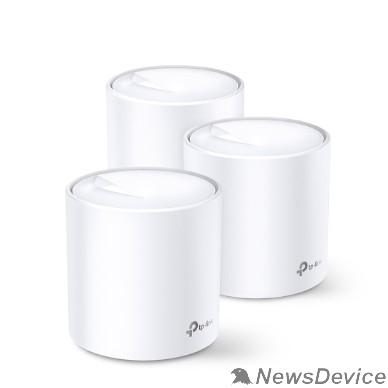 Сетевое оборудование TP-Link DECO X20(3-pack) AX1800 Домашняя Mesh Wi-Fi система