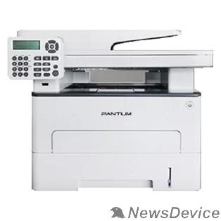 Pantum Pantum M6800FDW МФУ лазерное, монохромное, двусторонняя печать, автоподача, копир/принтер/сканер (цвет 24 бит), 30 стр/мин, 1200 x 1200 dpi, 256Мб RAM, лоток 250 стр, USB, RJ45, Wi-Fi, серый корпус